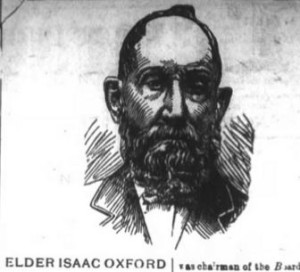 Sketch of Isaac Oxford