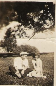 Coy Pennell and Clara Barnes Pennell