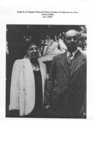 Maggie Lee Milstead Oxford & Hugh Blair Oxford