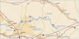 Map of several Oxford Land Grants