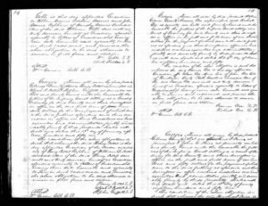Brinsley Barnes of Gilmer, Ga. - Orphan Papers, Part 2 of 2