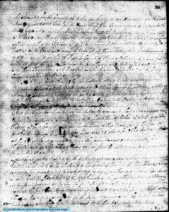 Act of the State Legislature to Create Wilkes Co. (1777) pg 2 of 3