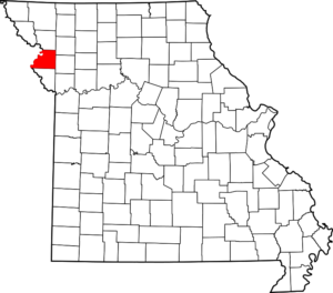 Map of Buchanan County Missouri